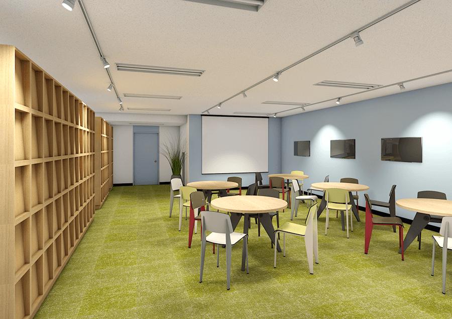 株式会社テンダの新オフィス(マルチスペース イメージ)