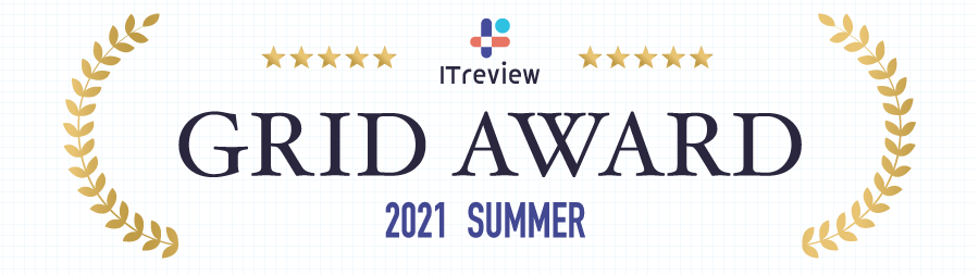 ITreview Grid Award 2021 Summer